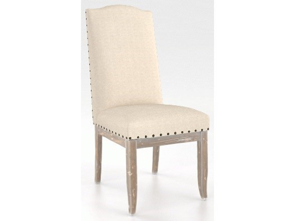 Canadel Champlain - Custom DiningCustomizable Side Chair with Nailhead Trim