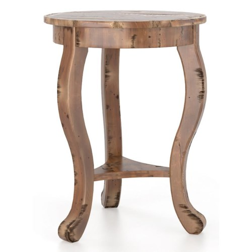 Canadel Champlain - Living Customizable Round End Table