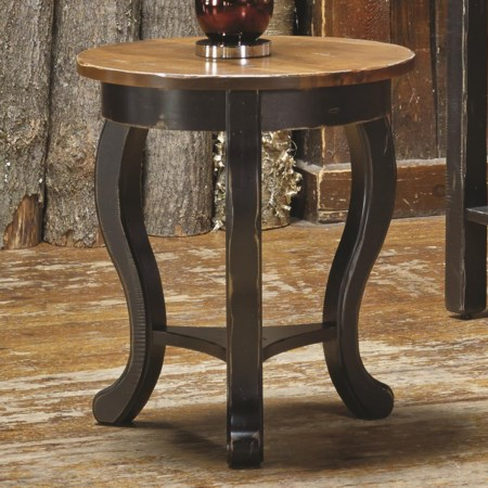 <b>Customizable</b> Round End Table
