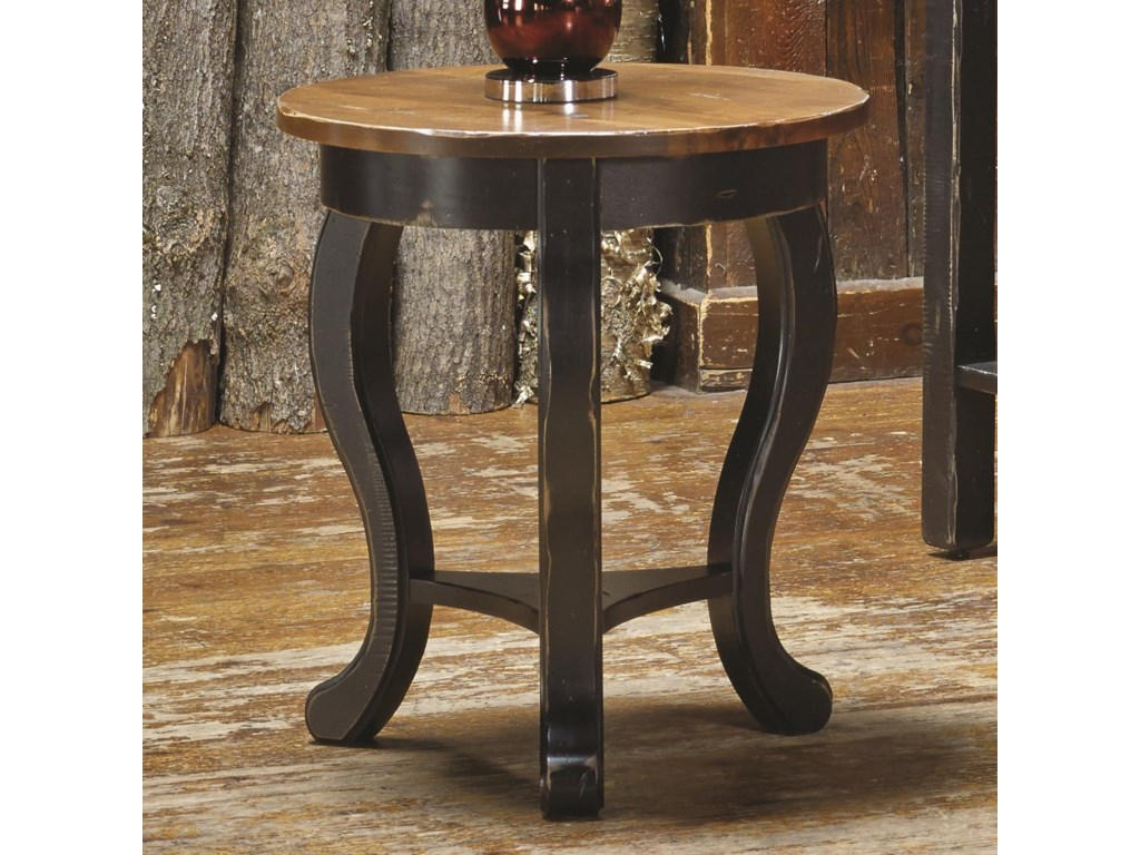 Canadel Champlain - Living<b>Customizable</b> Round End Table