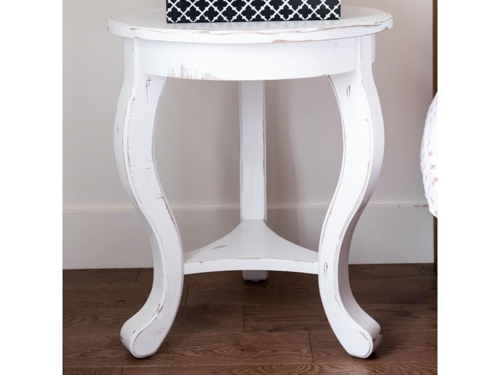 Canadel Champlain - LivingCustomizable Round End Table