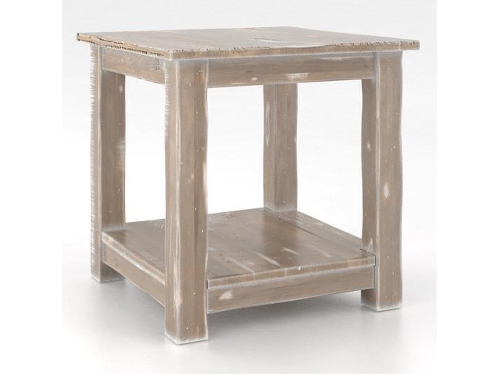 Canadel Champlain - LivingCustomizable Square End Table