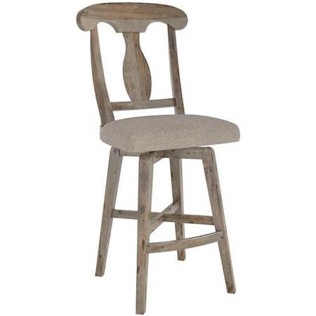 Customizable Upholstered Stool