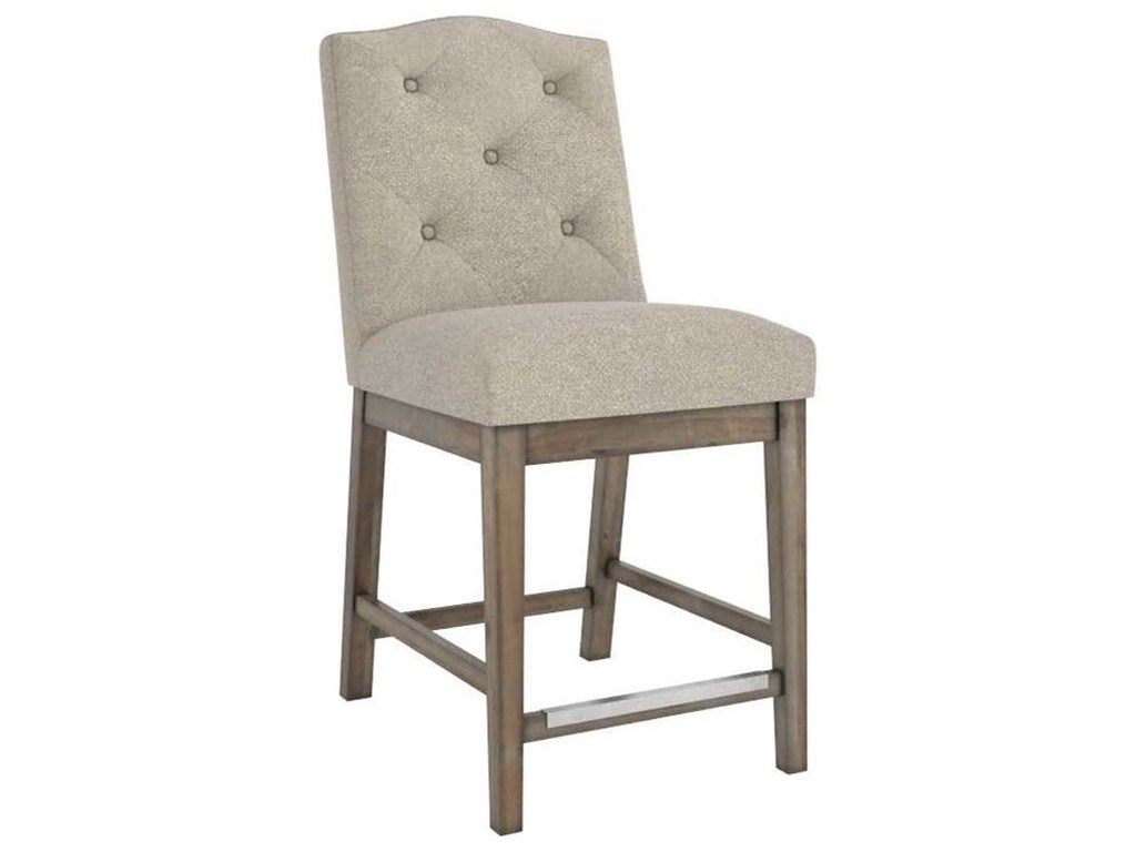 Canadel Champlain - Custom DiningCustomizable Upholstered Counter Stool