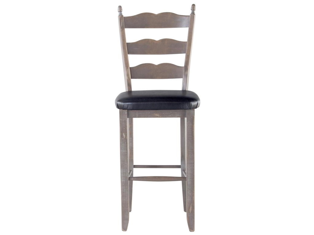 Canadel Champlain - Custom Dining<b>Customizable</b> Ladderback Bar Stool