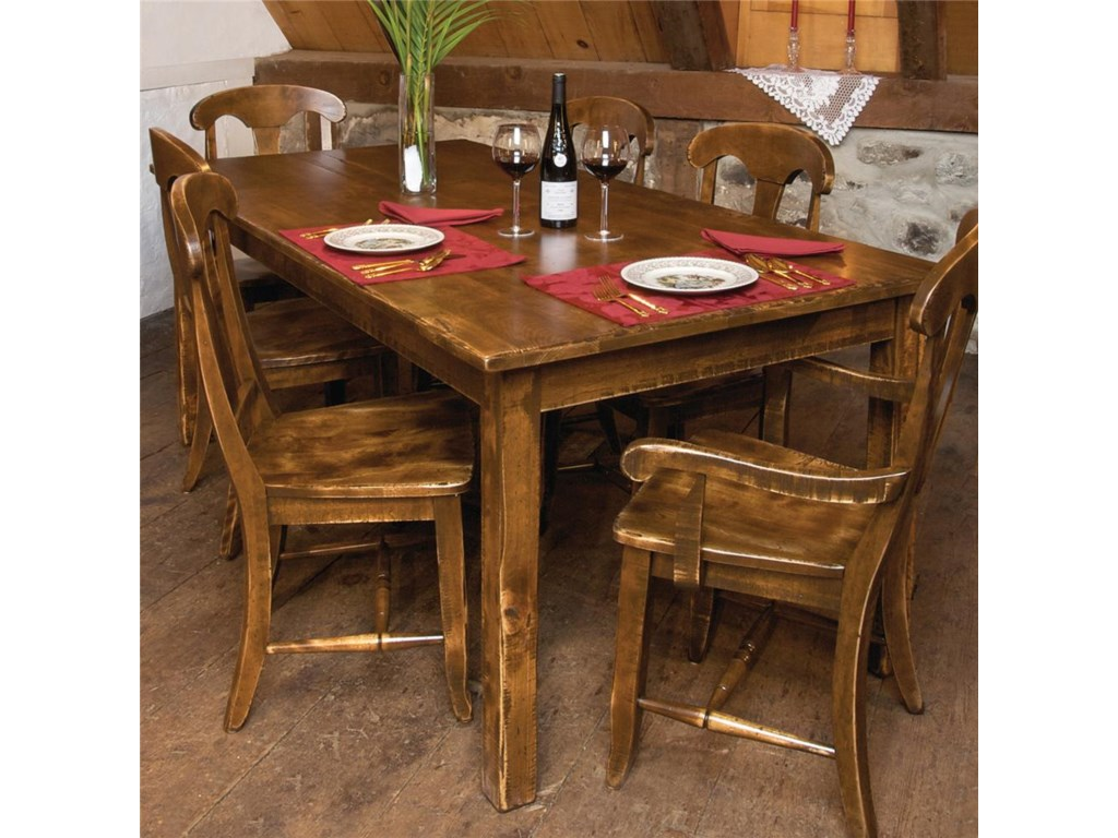 Canadel Champlain - Custom Dining<b>Customizable</b> Dining Table
