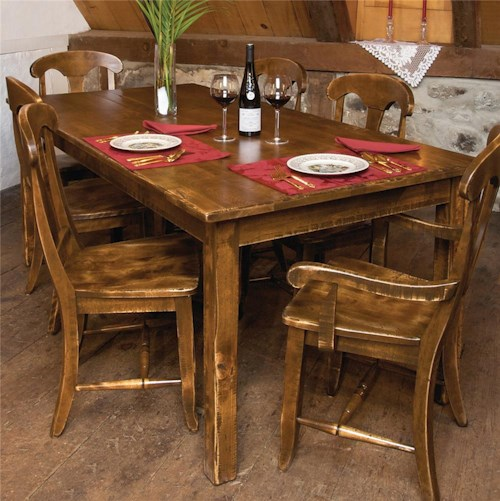 Canadel Champlain - Custom Dining Customizable Traditional Rectangular Dining Table