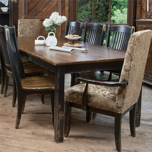 Canadel Champlain - Custom Dining Customizable Traditional ...