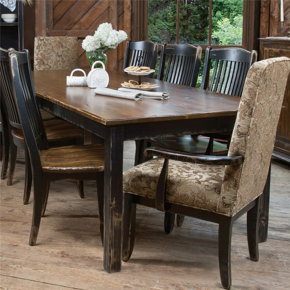 Canadel Champlain   Custom Dining Customizable Traditional Rectangular Dining  Table
