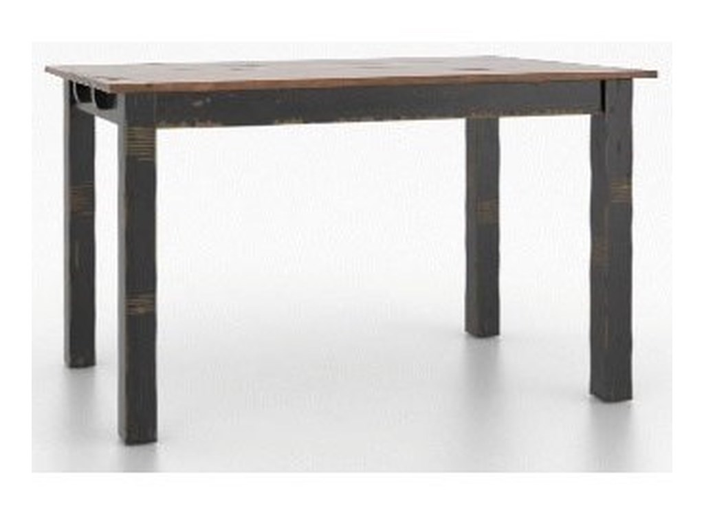 Canadel Champlain - Custom DiningCustomizable Rect. Counter Table