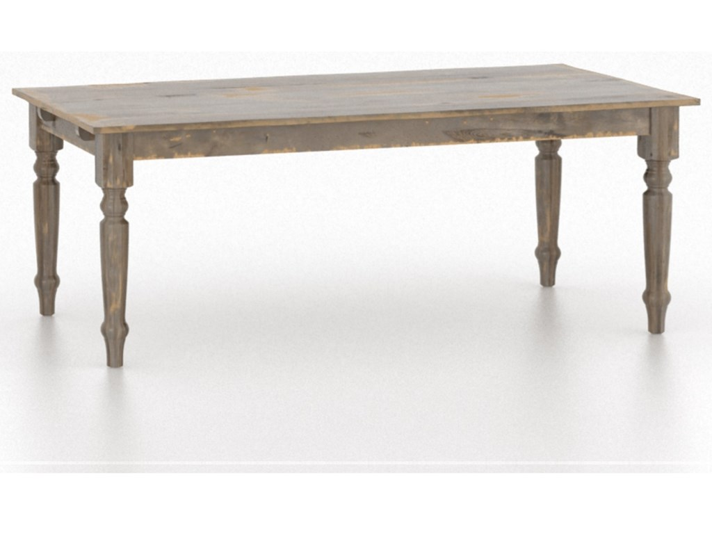 Canadel Champlain - Custom DiningCustomizable Rectangular Table