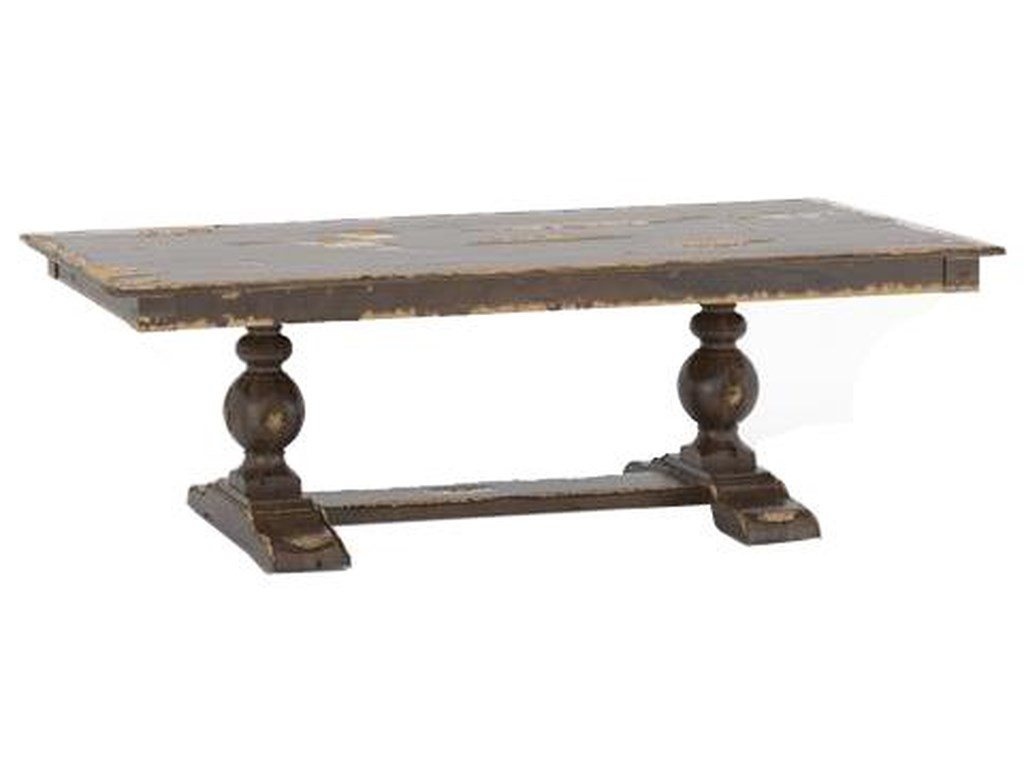 Canadel Champlain - Custom DiningCustomizable Rectangular Table w/ Trestle