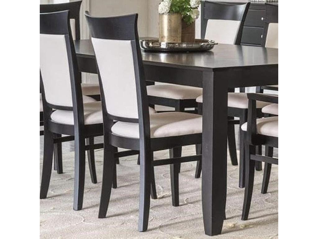 Canadel ClassicCustomizable Side Chair w/ Sunbrella Fabric
