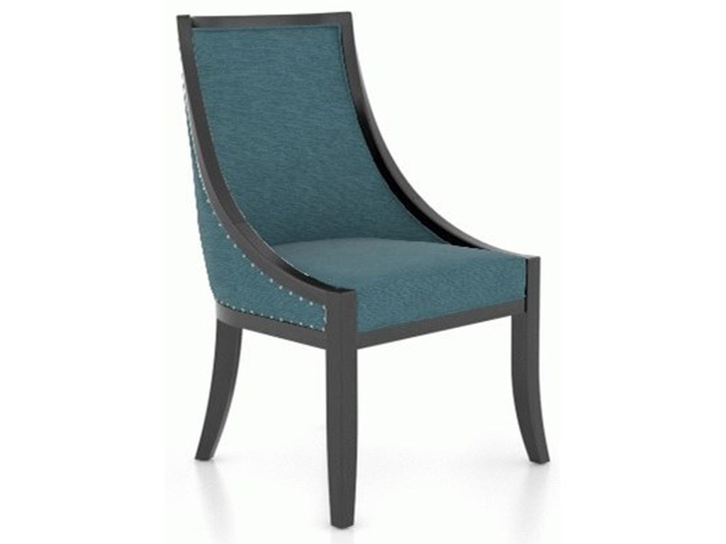 Canadel ClassicCustomizable Upholstered Side Chair