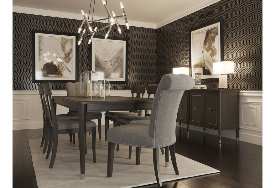 Canadel Classic Dining Room Group | Stuckey Furniture ...