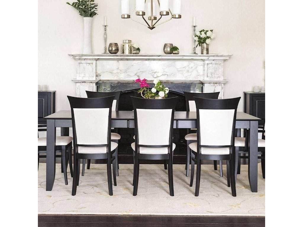 Canadel ClassicCustomizable Rectangular Dining Table