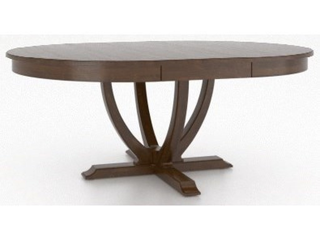 Canadel ClassicCustomizable Round/Oval Dining Table