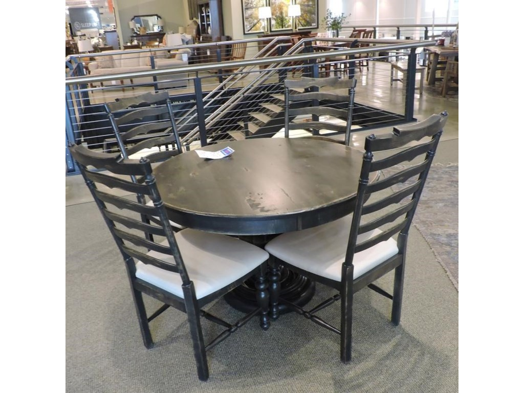 Canadel Clearance Dining Table & 4 chairs | Belfort ...