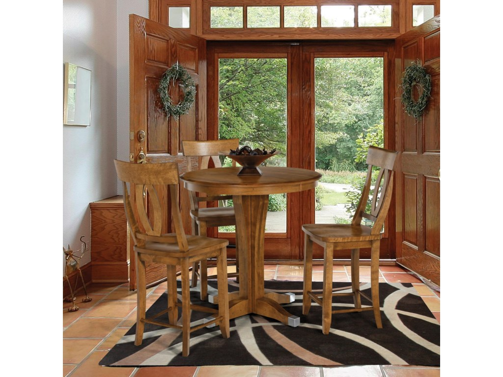 Canadel Custom Dining - High Dining <b>Customizable</b> 35.25