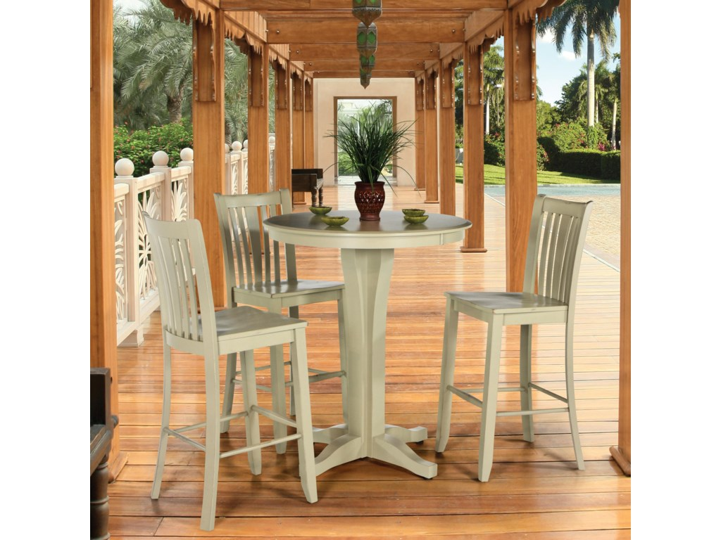 Canadel Custom Dining - High Dining TAB020986868A+3XSTO0351 ...