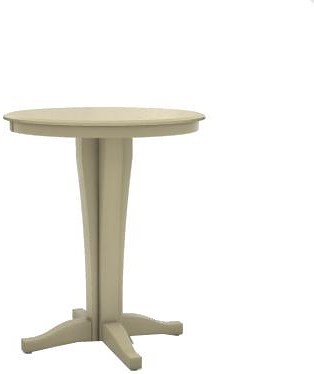 Canadel Custom Dining High Dining Customizable Round Pub Table - 36 high pub table