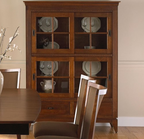 Canadel Custom Dining Customizable Buffet/China Cabinet