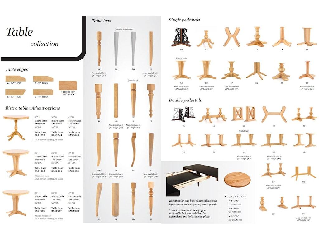 Canadel Custom Dining<b>Customizable</b> Boat Shape Table