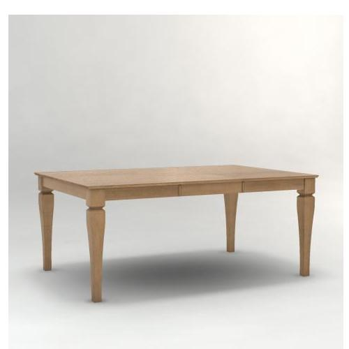 Canadel Custom Dining<b>Customizable</b> Square Table with Legs