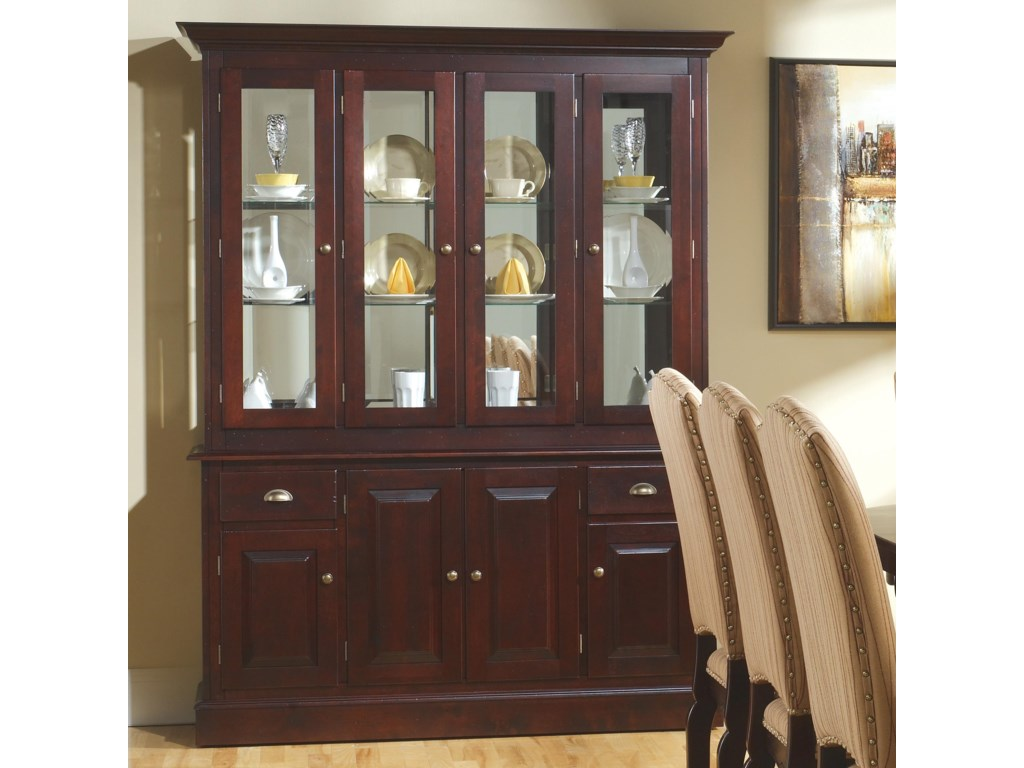 Canadel Custom Dining<b>Customizable</b> 60 Inch Hutch & Buffet