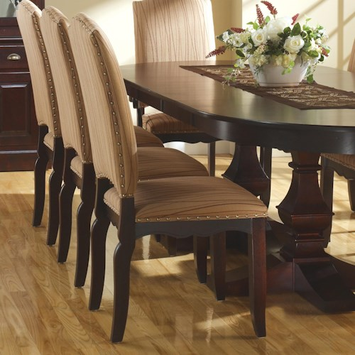 Canadel Custom Dining Transitional Customizable Upholstered Side Chair