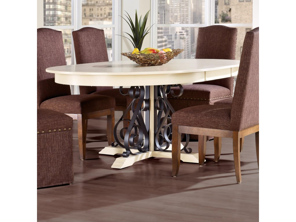 Canadel Custom Dining<b>Customizable</b> Round Table w/ Leaf