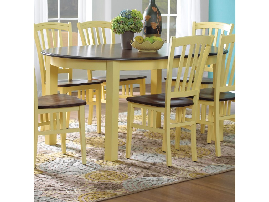 Canadel Custom Dining<b>Customizable</b> Oval Table with Legs