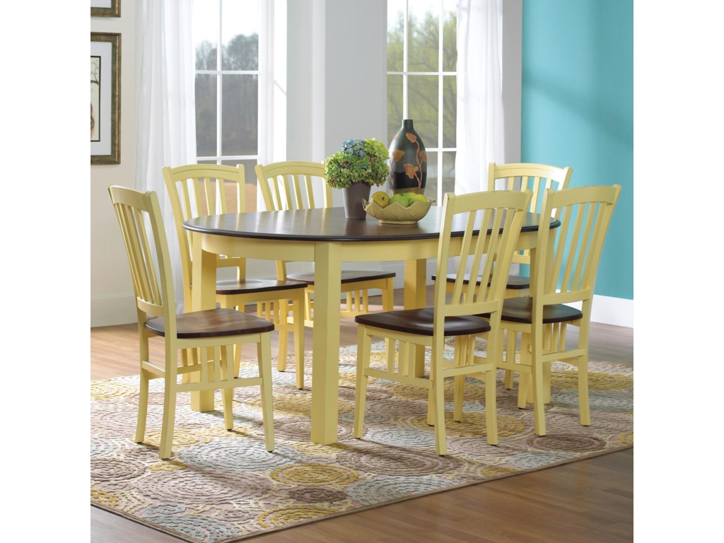 Canadel Custom Dining<b>Customizable</b> Oval Table Set