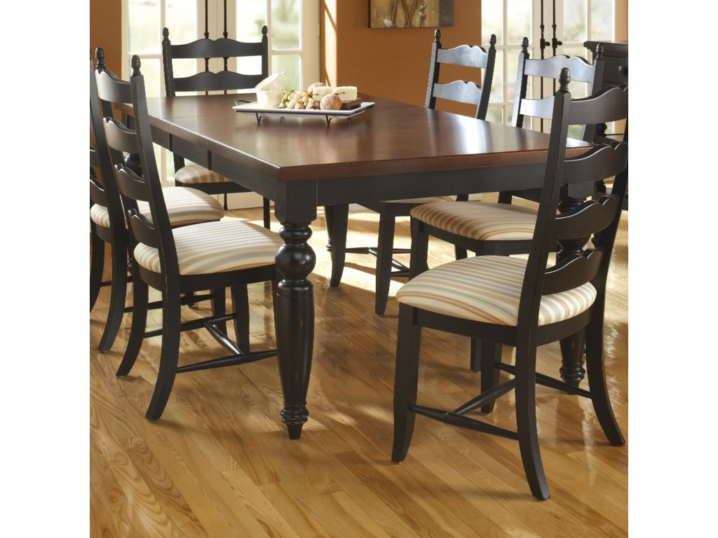 Canadel Custom Dining TREATIT Customizable Rectangular - Custom dining room table and chairs