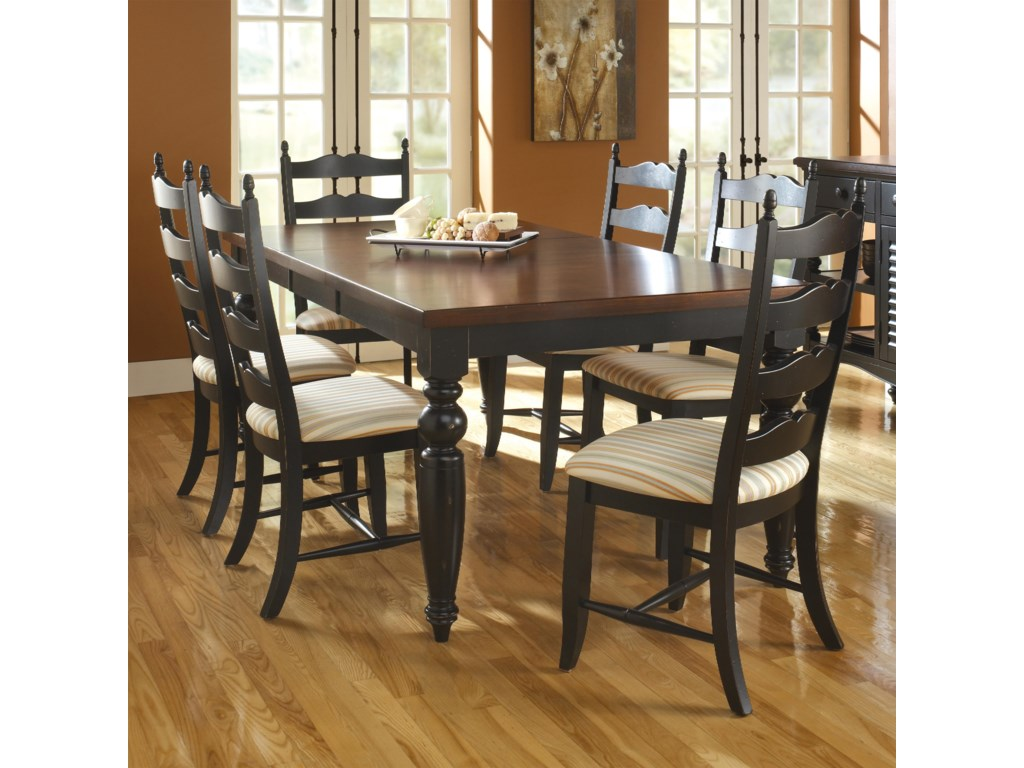 Canadel Custom DiningbCustomizable B Rectangular Table