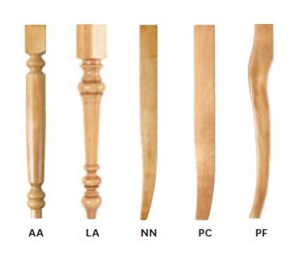 Chair Leg Options