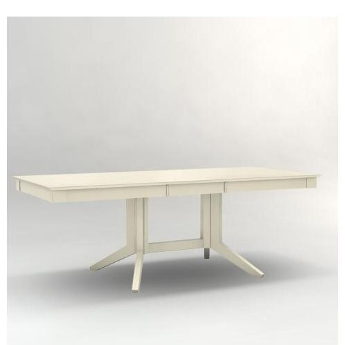 Canadel Custom DiningCustomizable Rectangular Table with Pedestal