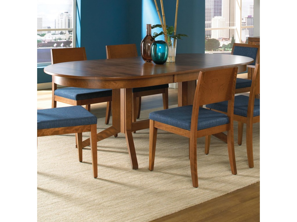 Canadel Custom Dining<b>Customizable</b> Oval Table