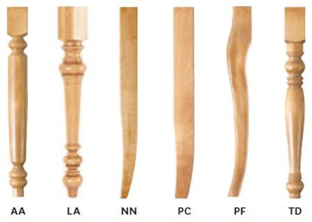 Leg Options Available