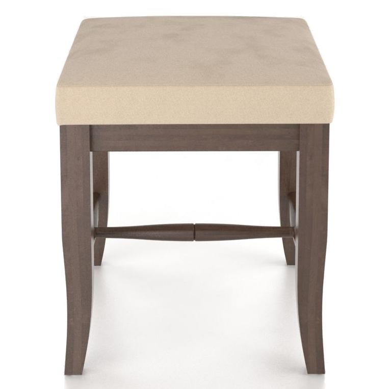 Canadel Custom Dining Customizable Upholstered Single Bench 20
