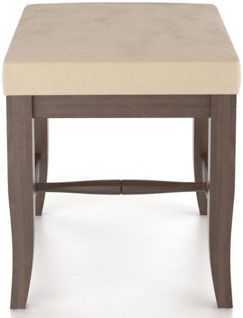 Canadel Custom Dining Customizable Upholstered Single Bench, 18