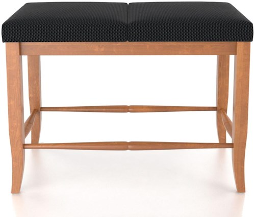 Canadel Custom Dining Customizable Upholstered Bench, 24