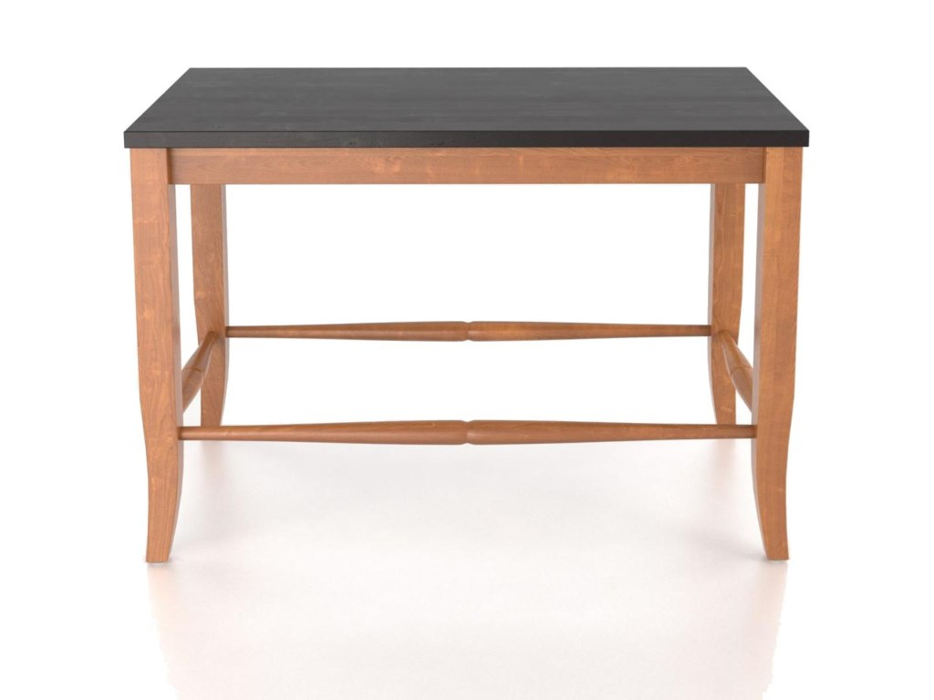 Canadel Custom Dining<b>Customizable</b> Wooden Seat Bench, 24