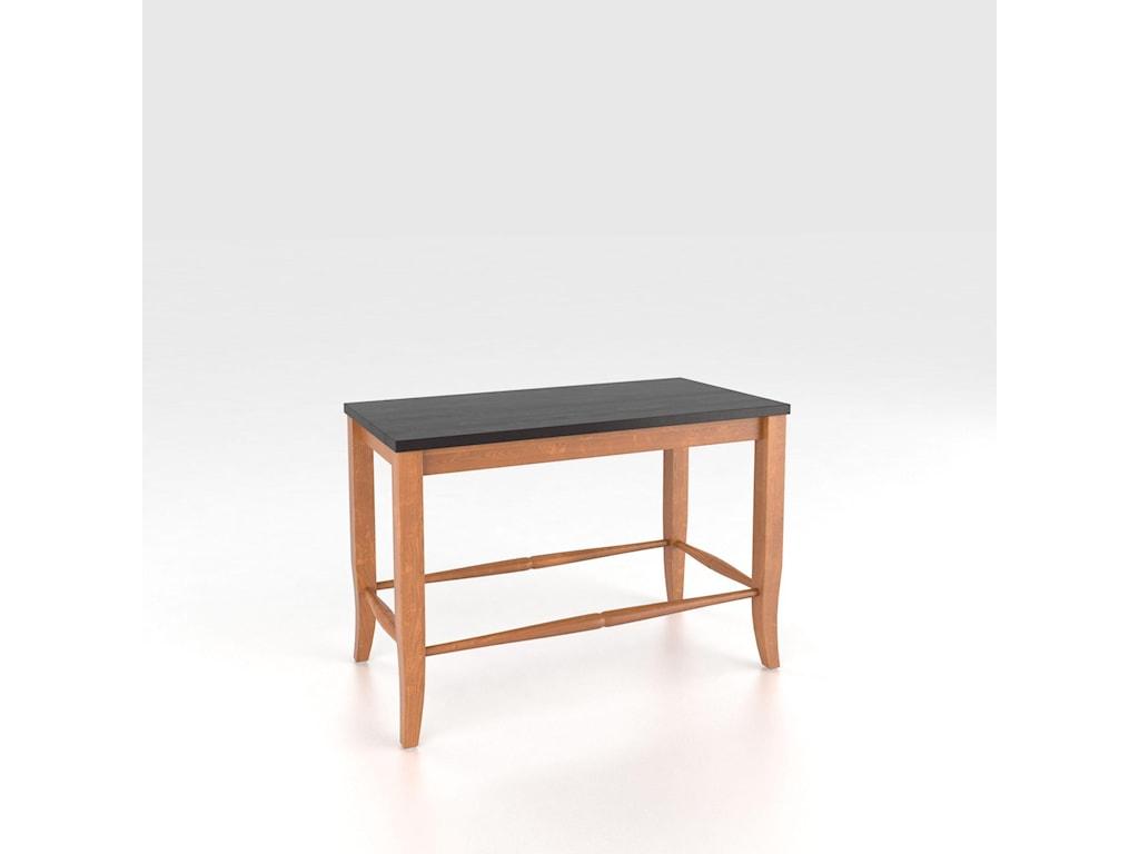 Canadel Custom Dining<b>Customizable</b> Wooden Seat Bench, 24