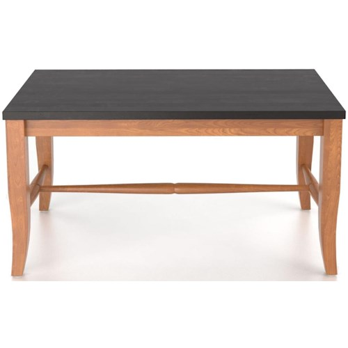 Canadel Custom Dining Customizable 2 Seat Wooden Bench, 18