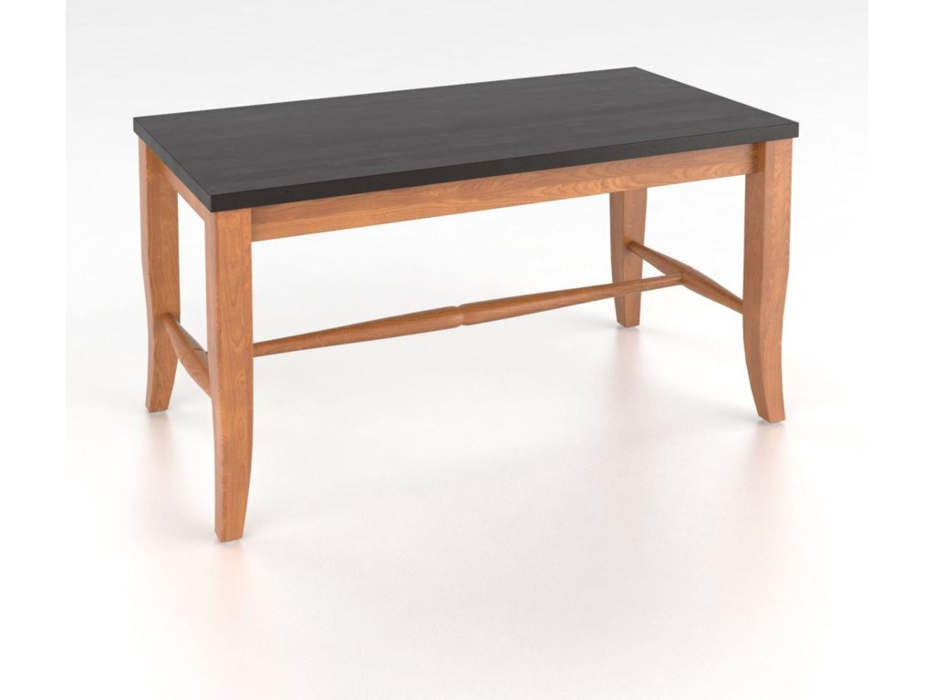 Canadel Custom Dining<b>Customizable</b> Wooden Seat Bench, 18