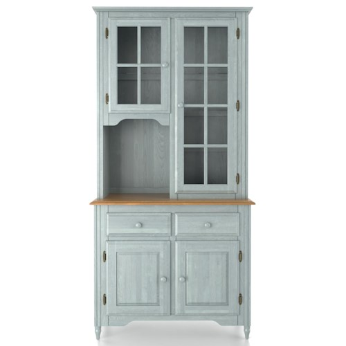 Canadel Custom Dining Customizable 38 Inch Buffet & Hutch