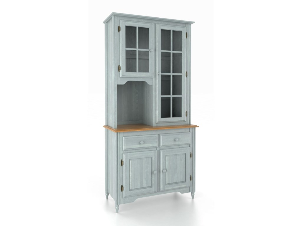 Canadel Custom Dining<b>Customizable</b> 38 Inch Buffet & Hutch