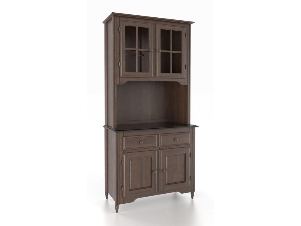 Canadel Custom Dining<b>Customizable</b> 38 Inch & Buffet