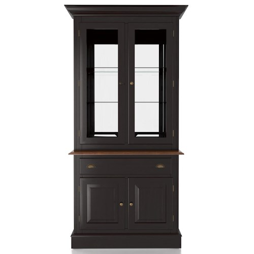 Canadel Custom Dining Customizable 38 Inch Hutch & Buffet China Cabinet